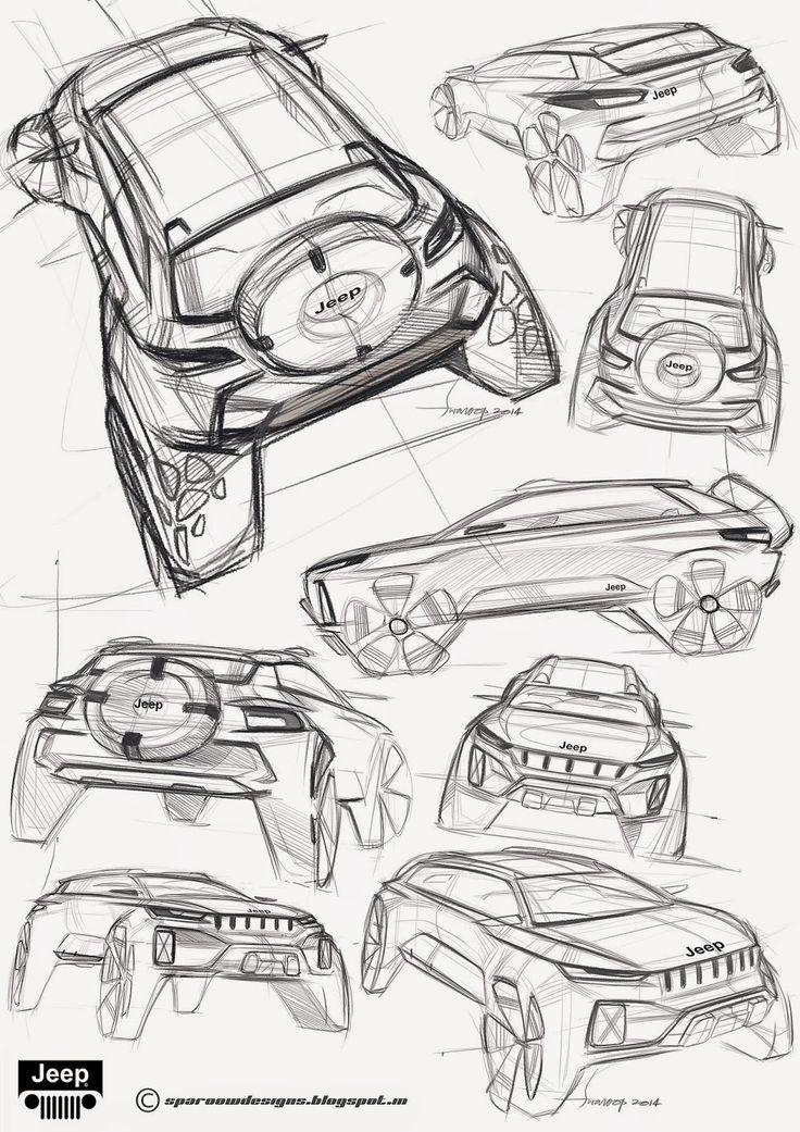 SPAROOW DESIGNS: Jeep