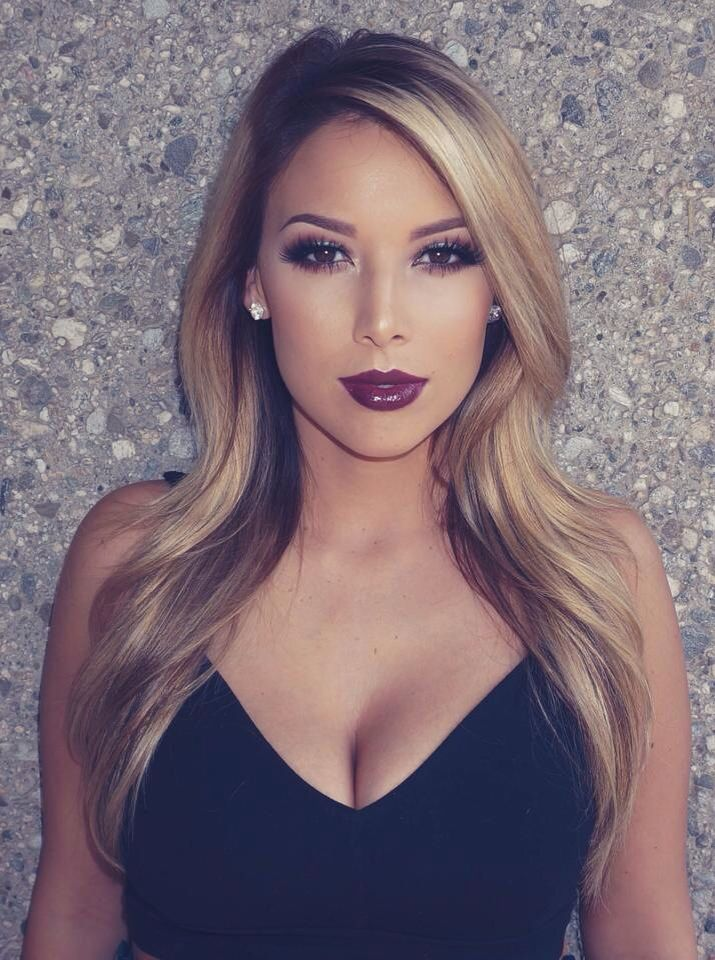 Sultry fall makeup