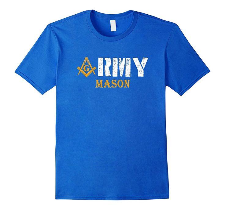 The Masonic Store: Freemason - US Army T-Shirt Gift