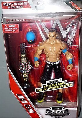JOHN CENA WWE Mattel Elite Collection Series 40 Action Figure w/ US Belt IN HAND