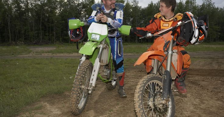 Dirt bikes are motorized bikes designed to be ridden on dirt instead of on streets, instantly recognizable by their knobby tires. There are four basic types of dirt bikes: trail bikes, motocross bikes, dual purpose bikes and minibikes. The best dirt bike for your new teen rider depends on how your teen intends to use the bike. Trail bikes are for...