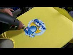 ▶ Serigrafia HD - Bonito y delicado de trabajo de estampación serigráfica a varias tintas sobre una camiseta