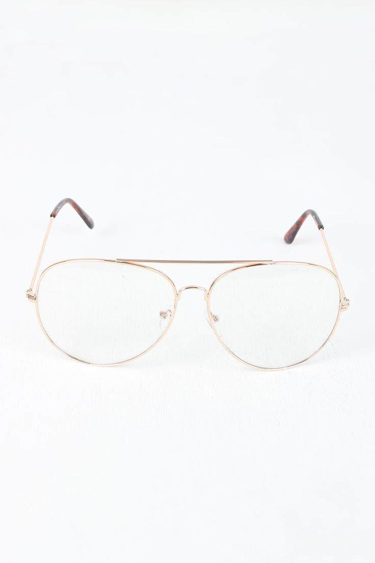 shop these clear lens wire aviator glasses featuring clear lens thin wire aviator frames double bridge and nose pads oversize clear lens aviator