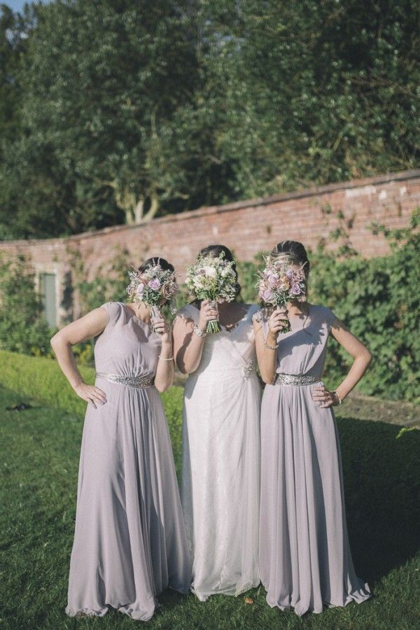 bridesmaid coast pink dresses Chic Dusky Pink Wedding http://emmalawsonphotography.com/