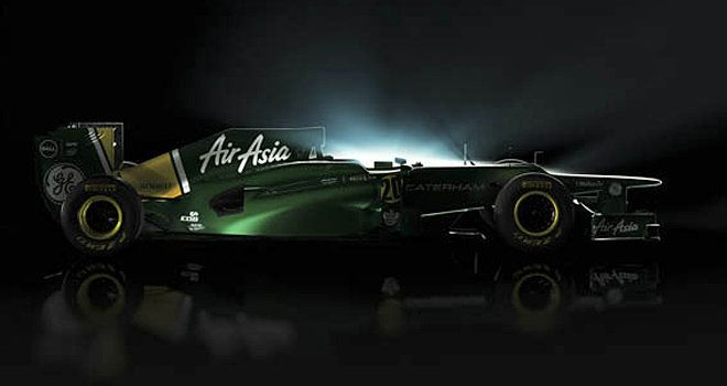 Picture courtesy of F1 Racing magazine / Caterham F1 Team