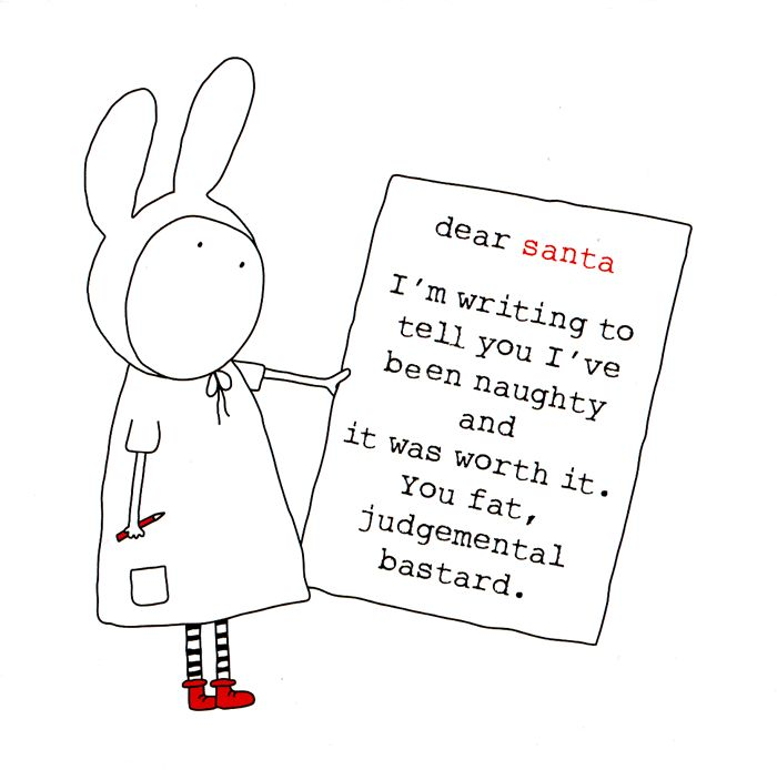 Funny Christmas Cards - Been Naughty And It Was Worth It