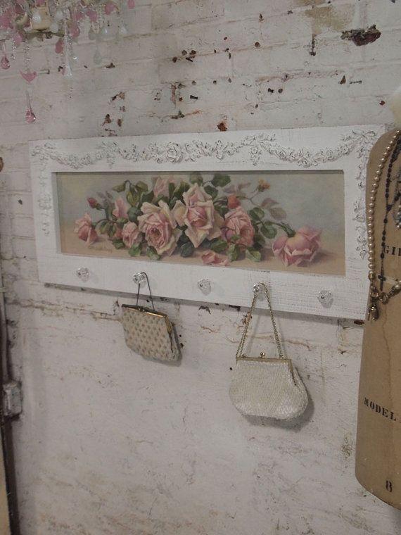 perchero mueble ❤°(¯`★´¯)Shabby Chic(¯`★´¯)°❤...