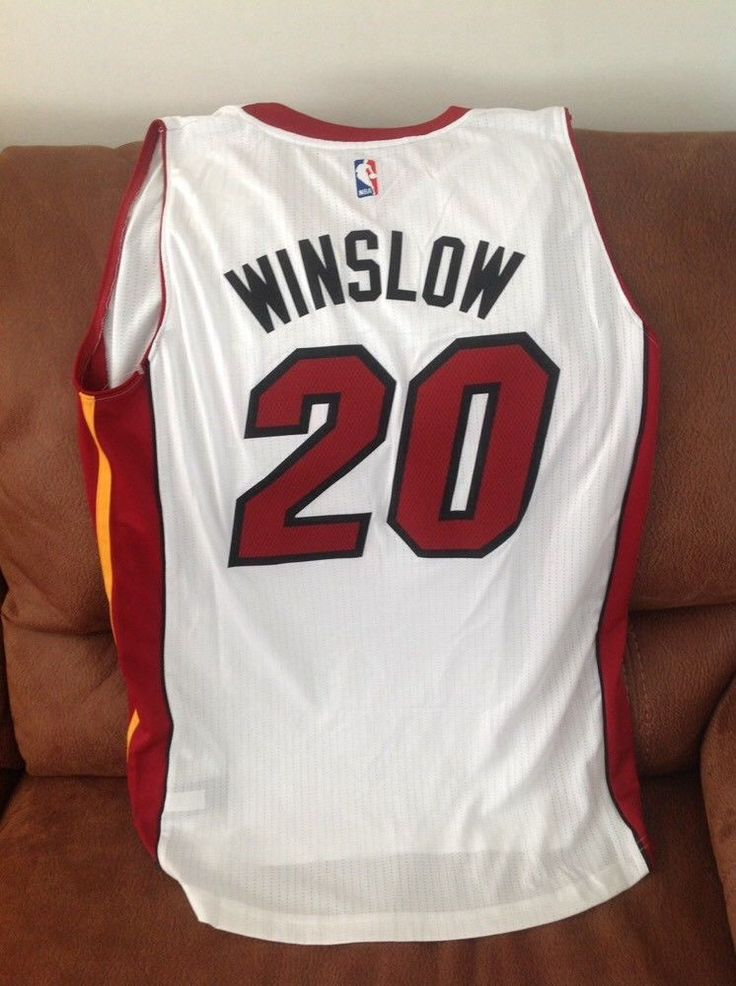 Adidas justise winslow #20 miami heat nba jersey NWT size XL Lenght +2 mens | Sports Mem, Cards & Fan Shop, Fan Apparel & Souvenirs, Basketball-NBA | eBay!