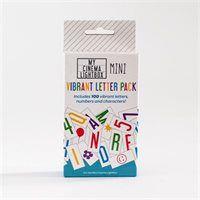 My Cinema Lightbox® Extra Colour Letter Pack - Mini
