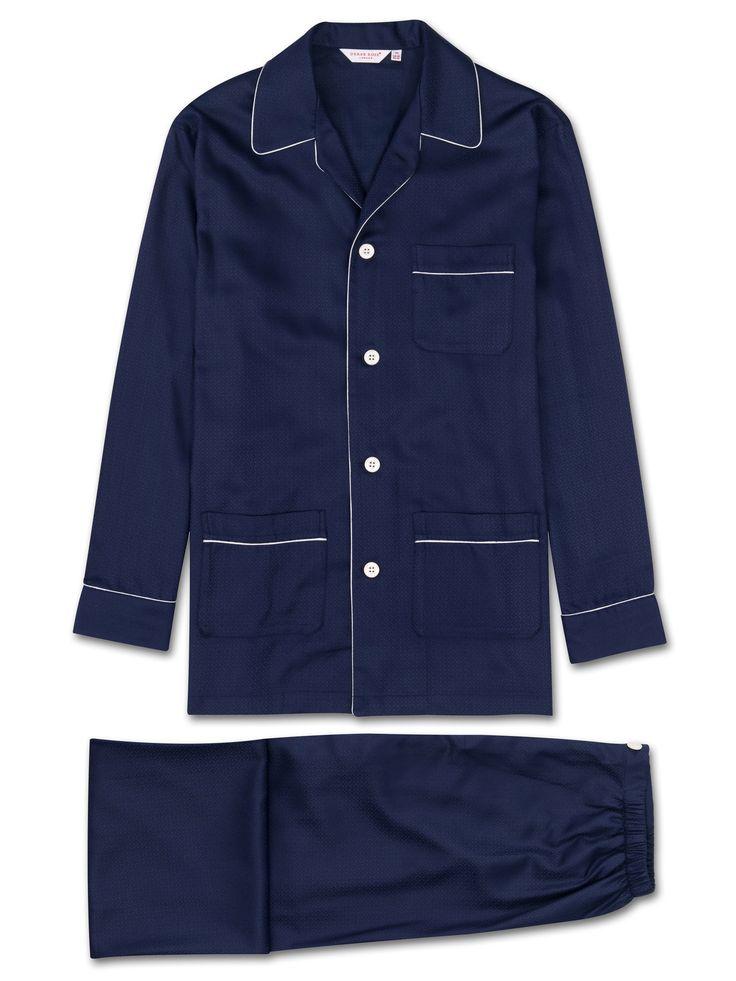 Buy Our Mens Pyjamas Online From Derek Rose, Including Mens Pyjamas Lombard 6. We Specialise In Luxury Mens And Ladies Sleepwear, Loungewear And Underwear.