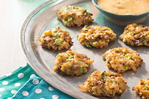 Mini Crab Cakes - I don't think I could use canned crab meat. I would probably get some fresh.