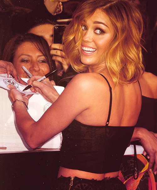 Miley Cyrus...love who she's become