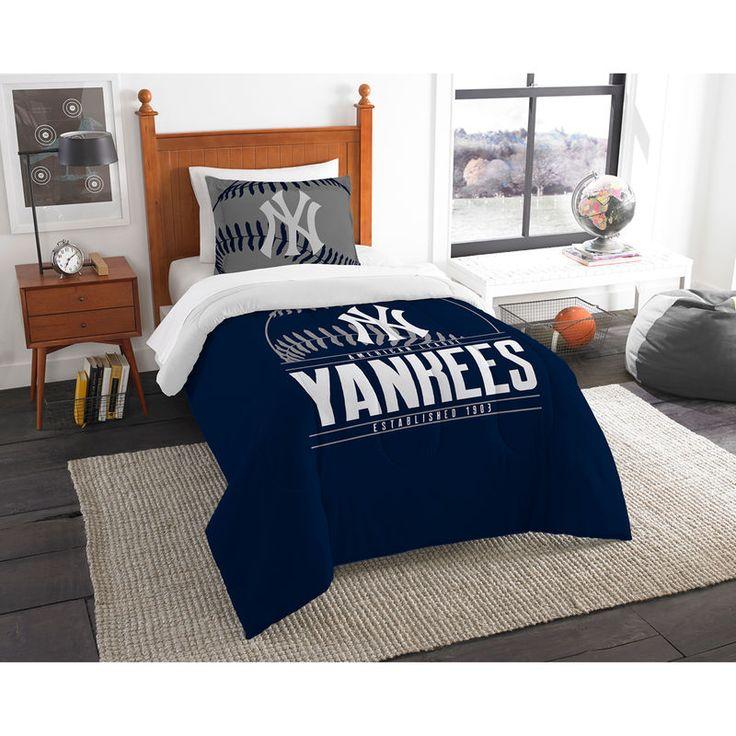 New York Yankees The Northwest Company Grand Slam Twin Comforter Set