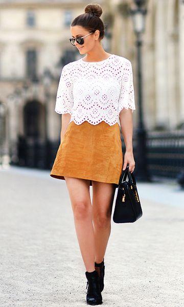 Moda it - Look Minissaia: Camurça   Moda it