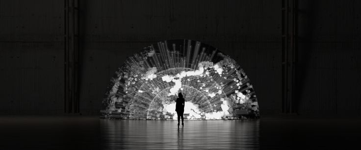 Direction_Design_Animation: Ouchhh; Sound Design: Audiofil; AVA_V2 / Particle Physics Scientific Installation featured on The Artistation; Watch AVA in HD