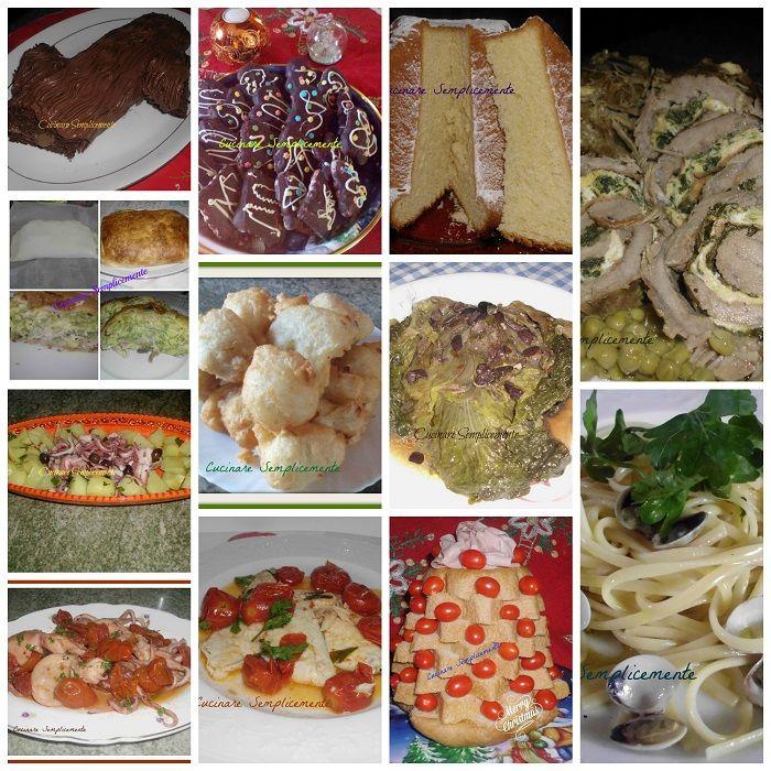 i miei menu' delle feste