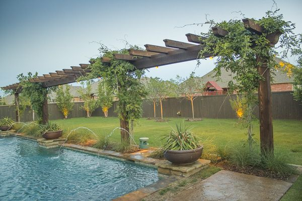 57 best images about swimming pool trellis on pinterest - Swimming pool contractors oklahoma city ...