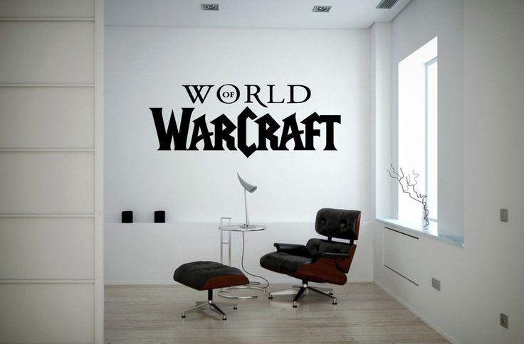 Hoy dedicaremos nuestro espacio a los amantes del juego online. Vinilo adhesivo World of Warcraft, inspirado en el famoso juego online.  Original decoración para fans y seguidores del Wow. Muchos más modelos te esperan. ¡Descúbrelos!