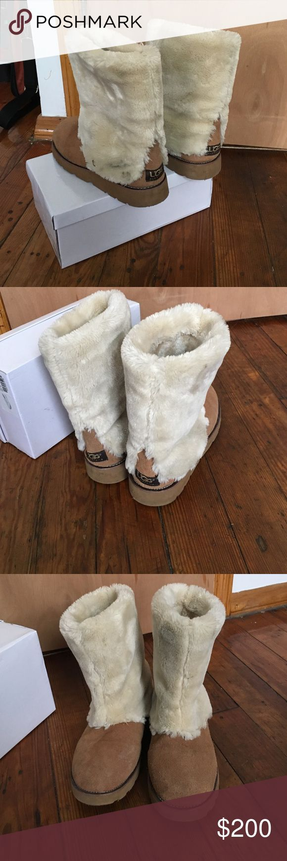 UGG Boots 💨CLEARANCE💨 ‼️ . They size an 8-9 ;). Feel free to leave a comment or ask for additional information. Also see my other listings. UGG Shoes Winter & Rain Boots