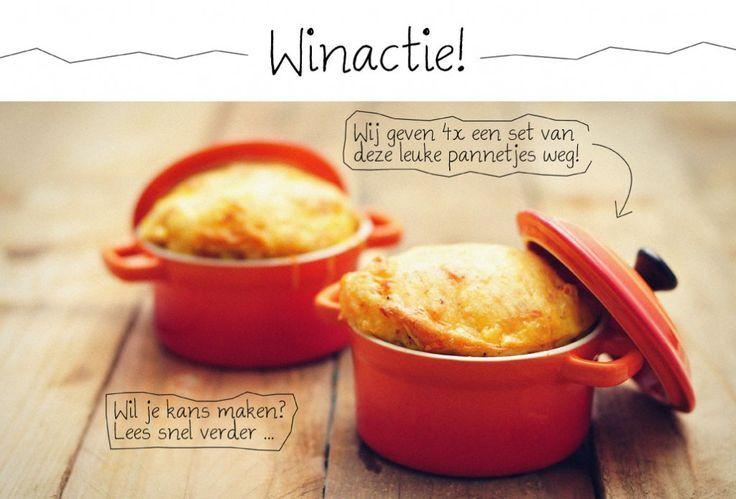 Een super leuk en makkelijk recept van zoete aardappel in mini pannetjes. Met prei, geraspte kaas en ei: heerlijk en gezond!