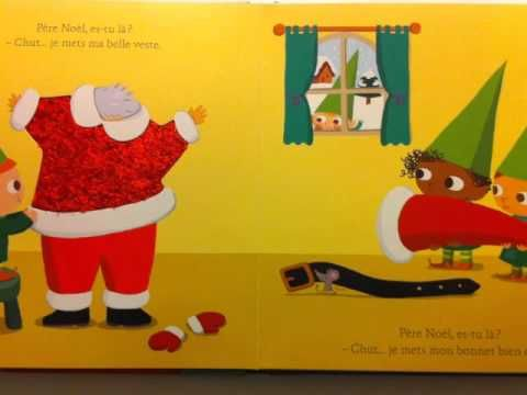 Un autre album de Noël pour travailler le vocabulaire de Noël.