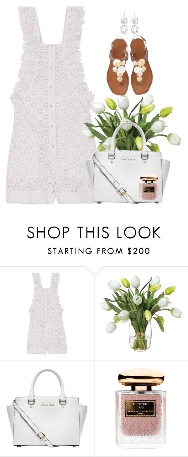 """""""Lacey"""" by lisa-holt ❤ liked on Polyvore featuring Philosophy di Lorenzo Serafini, Diane James, Michael Kors, Terry de Gunzburg and Andrea Fohrman"""