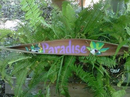 Image result for palm frond art