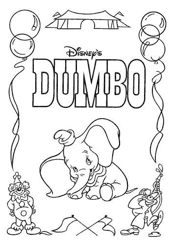 10 best DUMBO images on Pinterest | Malvorlagen, Elefanten und ...