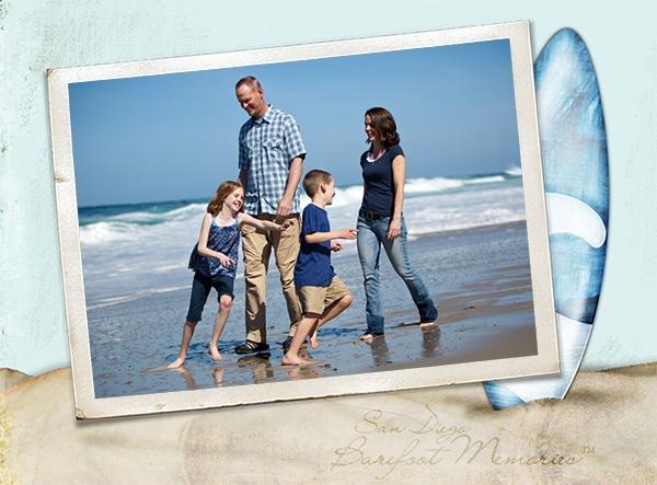 Beach Family Photography - Barefoot Memories San Diego