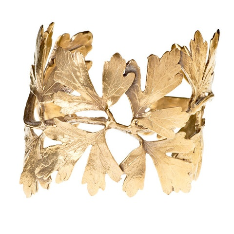 alkemie cuff: Ginko Leaf, Ginkgo Leaf, Leaf Cuffs, Leaves, Accessories, Cuffs 209, Alkemi Jewelry, Products, Alkemi Ginkgo