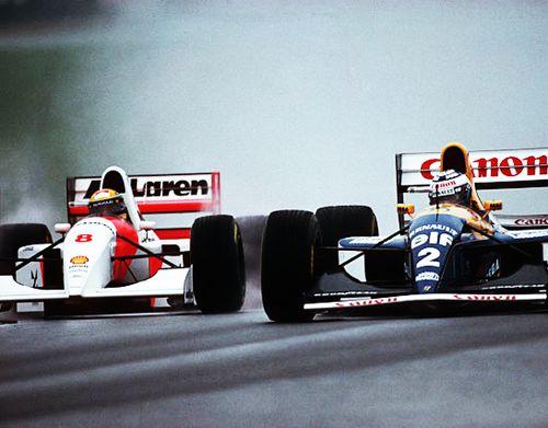 Senna vs Prost, 1993