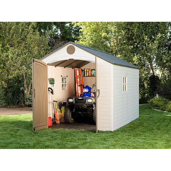 Lifetime Storage Shed (8' x 12.5') - 12596280 - Overstock.com Shopping - The Best Prices on Lifetime Tool Sheds