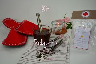 Little Self Creations: Kit Relaja-té  Si tienes alguna amistad a la veas ...