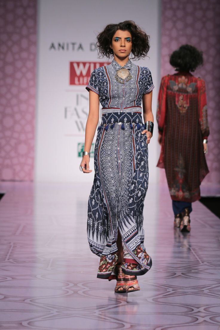 Anita Dongre Wills India Lifestyle Fashion Week Autumn