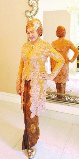 Model Kebaya untuk Acara Pernikahan Bagi Wanita Muslim