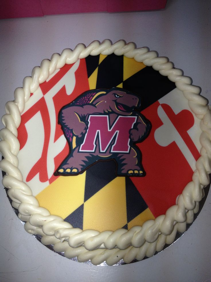 Cake Art Md : Maryland Terrapin Cake Maryland Terrapins Pinterest ...