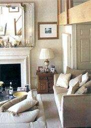 Farrow  Ball Dimity Walls and Pointing on Trim