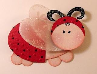 ladybug #punchart  visit me at http://stampingwithbibiana.blogspot.com/