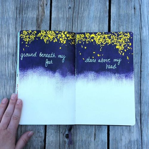 Art Journal Page - I had such a lovely day today! I usually work a late shift and that means I dont get to see some of my fav co-workers often so we had…