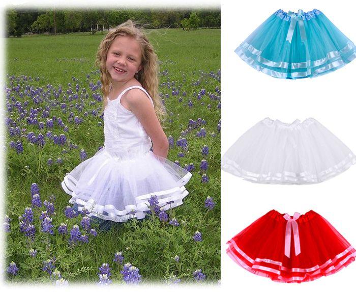 Детские юбка балетной пачки девушки юбки мини юбка юбки принцесса с бантом украсить детская балетные пачки младенца юбка для 2 - 8 т бесплатная доставка