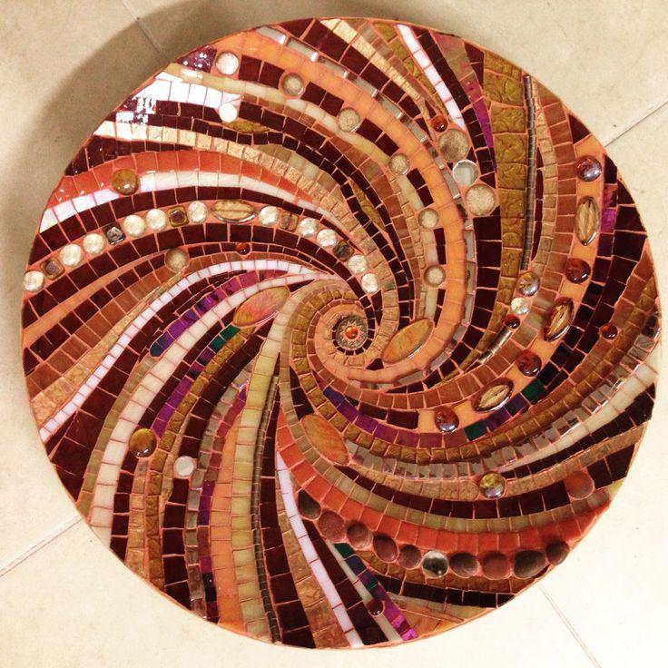Mosaic#handmade#glas#bamboo#plate#tabak#cam#elyapımı#mozaik#