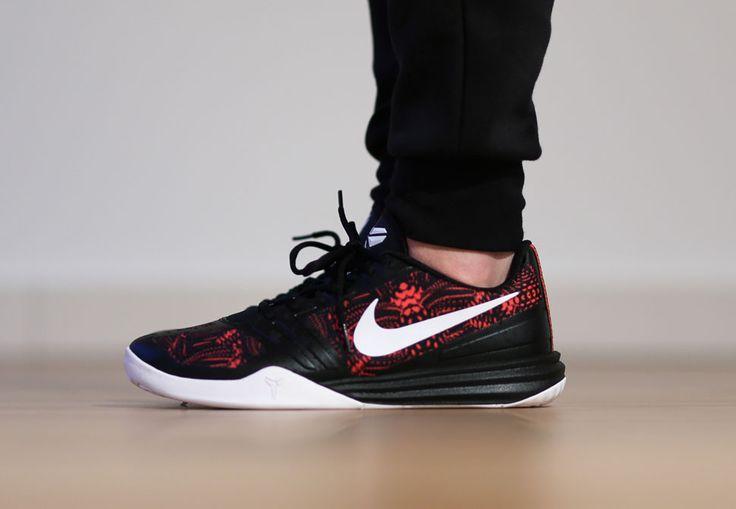 "9260e98b10b7 ... Nike KB Mentality ""Bright Crimson"" Basketball Shoes Pinterest Bright"