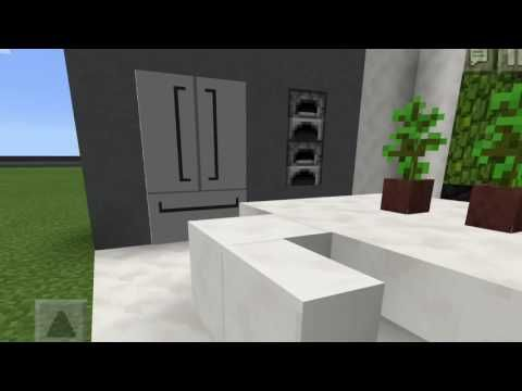 how to make a fridge in minecraft pe that works