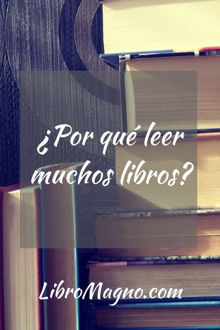 ¿Por qué es importante leer muchos libros? En la nueva publicación de #libromagno te damos 5 razones y 3 consejos prácticos http://www.libromagno.com/2017/11/consejo-por-que-leer-muchos-libros.html