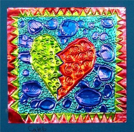 Check out student artwork posted to Artsonia from the Tin Hearts project gallery at Cathedral School.