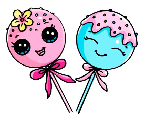cake pop coloring pages - photo#26