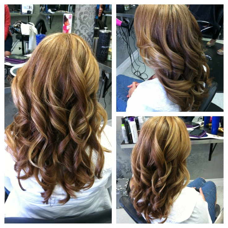 Summer Blonde Partial Highlights Hair Pinterest