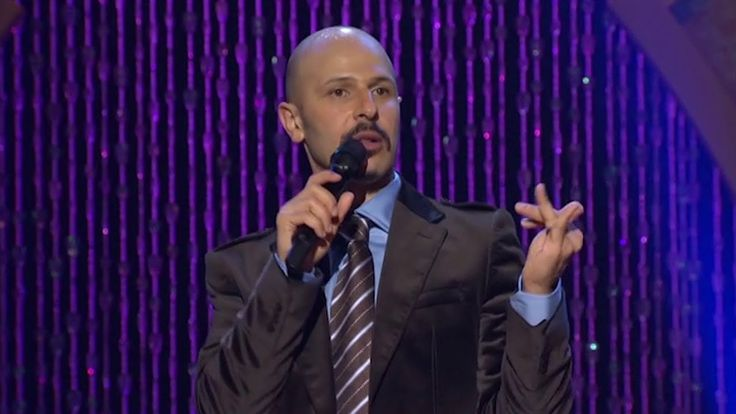 """A Country With Oil Is Like Being A Drug Dealer"" - Maz Jobrani (Brown & ..."