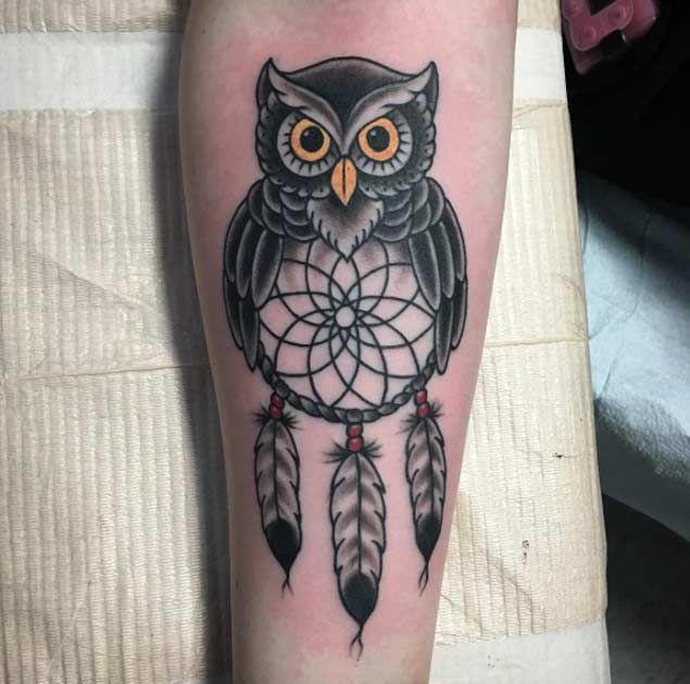 Owl Dreamcatcher Design