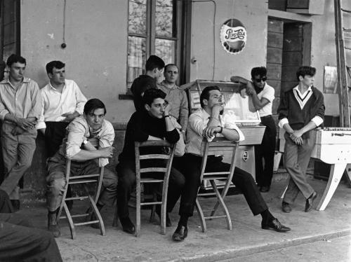 MARIO CATTANEO Dalla serie Balera, Milano, fine anni '50 - inizio anni